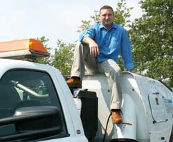 Tommy Allen, president of Used Sweepers of America, LLC